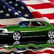 1968 Camaro Tribute Poster