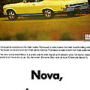 1968 Chevy Nova - The Great Equalizer Poster