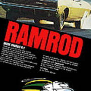 1968 Dodge Charger R/t - Ramrod Poster
