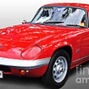 1968 Lotus - Elan S4 -  Full View Poster