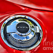 1969 Charger Fuel Cap Poster