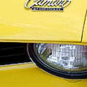 1969 Chevrolet Camaro Emblem -0241c Poster
