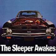 1969 Chevy Nova Ss - The Sleeper Awakes Poster