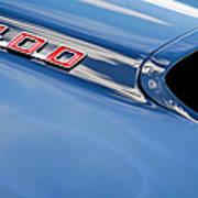 1969 Pontiac Firebird 400 Hood Poster