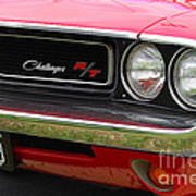 1970 Challenger Grill Poster