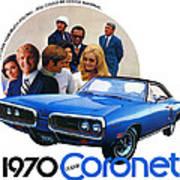 1970 Dodge Coronet 500 Poster