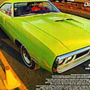 1970 Dodge Coronet Super Bee Poster