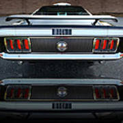 1970 Ford Mustang Mach 1 Poster