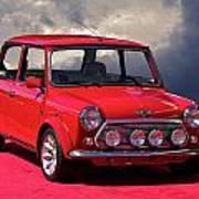 1970 Morris Mini Cooper Poster