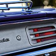 1970 Plum Crazy Purple Plymouth 'cuda Poster