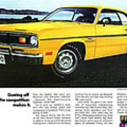 1970 Plymouth Duster 340 Poster