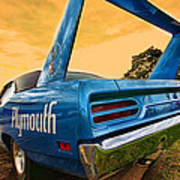 1970 Plymouth Road Runner Superbird Poster
