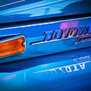 1970 Toyota Land Cruiser Fj40 Hardtop Emblem Poster