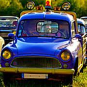 1970s car Simca pick-up Poster
