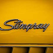 1971 Chevrolet Corvette Stingray Emblem Poster