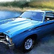 1971 Chevy Chevelle Poster by Robert Smith