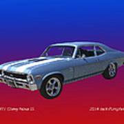 1971 Chevy Nova S S Poster
