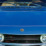 1971 Fiat Dino 2.4 Grille Poster