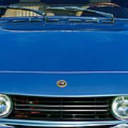 1971 Fiat Dino 2.4 Grille Poster by Jill Reger