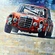 1971 Mercedes-benz Amg 300sel Poster