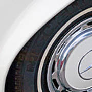 1971 Mercedes-benz Wheel Emblem Poster