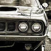 1971 Plymouth Cuda 383 Poster