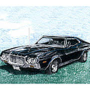 Ford Gran Torino Sport Poster