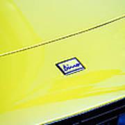 1973 Ferrari Dino 246 Gts Hood Emblem -0817c Poster
