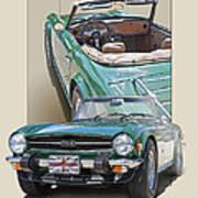 1975 Triumph Tr6 Poster