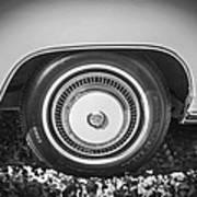 1978 Cadillac Eldorado Bw Poster