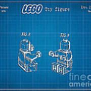 1979 Lego Minifigure Toy Patent Art 3 Poster