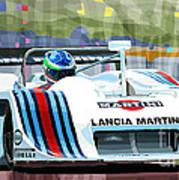 1982 Lancia Lc1 Martini Poster