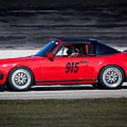 1984 Porsche 911 Targa Poster