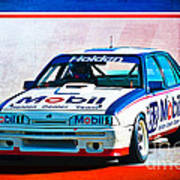 1987 Vl Commodore Group A Poster