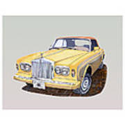 1988 Rolls  Royce's Corniche Convertible  Poster