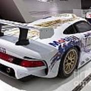 1996 Porsche 911 Gt1 Poster