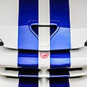 1998 Dodge Viper Gts-r Grille Emblem -0329c Poster
