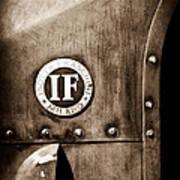 1913 Isotta Fraschini Tipo Im Emblem Poster