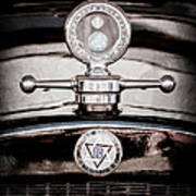 1928 Dodge Brothers Hood Ornament - Moto Meter Poster