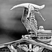 1930 Hispano-suiza H6c Kellner Transformable Hood Ornament Poster