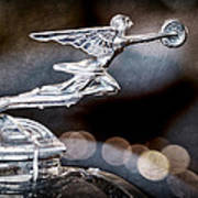 1930 Packard Model 733 Convertible Coupe Hood Ornament Poster