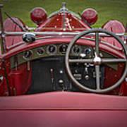 1931 Alfa Romeo Poster