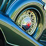 1933 Pontiac Spare Tire -0431c Poster