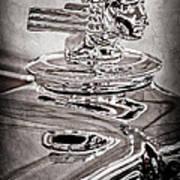1933 Stutz Dv-32 Dual Cowl Phaeton Hood Ornament Poster