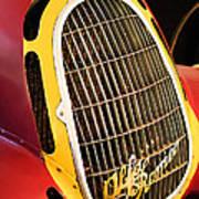 1935 Alfa Romeo 8c-35 Grille Emblem -0006c Poster