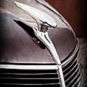 1937 Ford Hood Ornament Poster