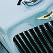 1939 Aston Martin 15-98 Abbey Coachworks Swb Sports Grille Emblem Poster