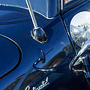 1941 Lincoln Continental Convertible Emblem Poster