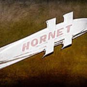 1951 Hudson Hornet Emblem Poster