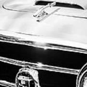 1953 Nash-healey Convertible Grille Emblem Poster